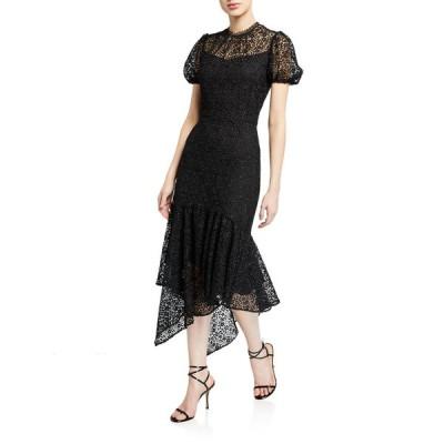 ショシャーナ レディース ワンピース トップス Trinette Ditzy Floral Lace Midi Dress