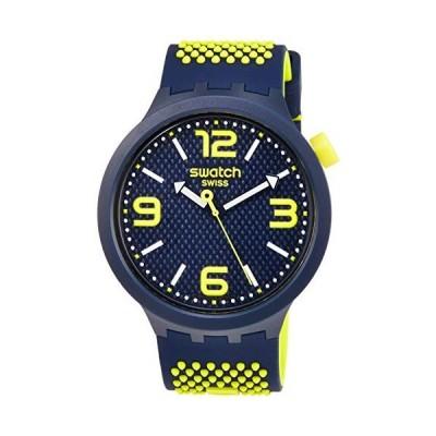 腕時計 スウォッチ メンズ SO27N102 Swatch BBNEON Quartz Blue Dial Men's Watch SO27N102