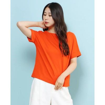 リネーム Rename Vネックセンターラインシャツ (オレンジ)
