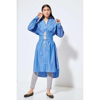 ROSE BUD / ローズ バッド カマーバンドベルト2wayシャツドレス