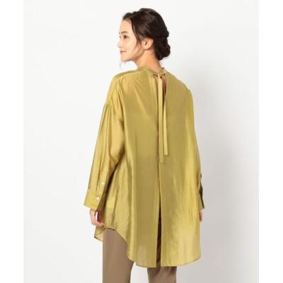 FREDY&GLOSTER / バックデザインロングシャツ WOMEN トップス > シャツ/ブラウス