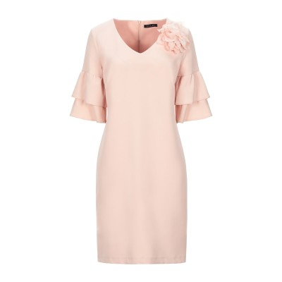 ELLEI ミニワンピース&ドレス ライトピンク 48 ポリエーテル 88% / ポリウレタン 12% ミニワンピース&ドレス