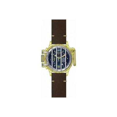 腕時計 インヴィクタ メンズ Invicta Vintage Chronograph Quartz Blue Dial Men's Watch 28136