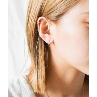 INNOCENT / SILVER925 12mmツイストピアス WOMEN アクセサリー > ピアス(両耳用)
