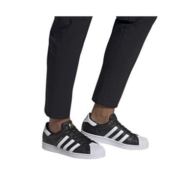 【アディダス】 スーパースター ヴィーガン / Superstar Vegan ユニセックス ブラック 27.5cm adidas