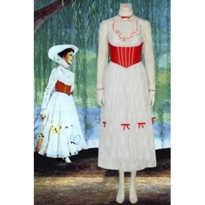 メリー?ポピンズ リターンズ Mary Poppins コスプレ衣装 [4201]