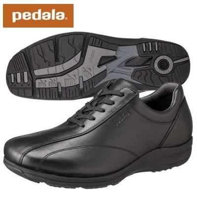 ペダラ ウォーキングシューズ アシックス pedala 1211A037 001 ブラック 送料無料