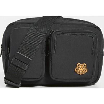 (取寄)ケンゾー ベルト バッグ KENZO Belt Bag Black 送料無料
