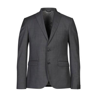 アレッサンドロデラクア ALESSANDRO DELL'ACQUA テーラードジャケット グレー 50 バージンウール 100% テーラードジャケット