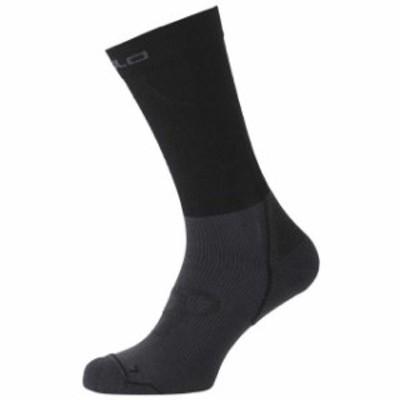 odlo オドロ ランニング&トライアスロン 男性用ウェア ソックス odlo cerami-warm-socks-long