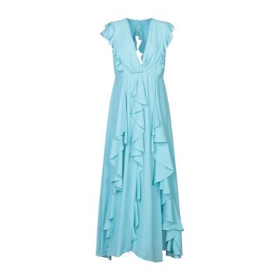 HANITA ロングワンピース&ドレス スカイブルー M ポリエステル 100% ロングワンピース&ドレス