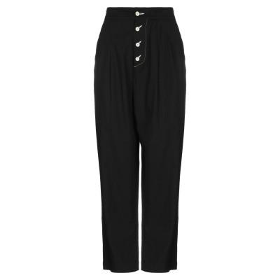 8PM パンツ ブラック S 100% コットン ポリウレタン パンツ
