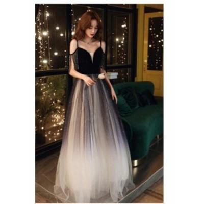 ロングドレス 演奏会 上品 大人 ウエディングドレス パーティードレス 披露宴 ピアノ 発表会 合唱衣装 袖あり 20代30代40代 結婚式 ステ