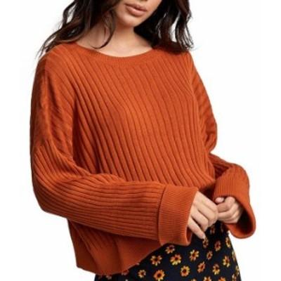 ルーカ レディース パーカー・スウェット アウター Sydney Long-Sleeve Sweater Dark Orange