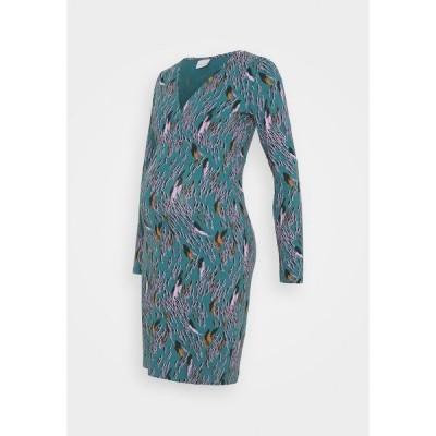 ママリシャス ワンピース レディース トップス MLADDIS TESS DRESS - Jersey dress - mallard blue