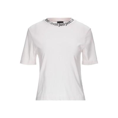 ジャストカヴァリ JUST CAVALLI T シャツ ライトグレー L コットン 100% T シャツ