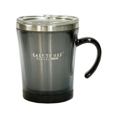 マグカップ フタ付 サードウェーブ マグ 320ml ブラック  保温 マグカップ  タケヤ化学工業