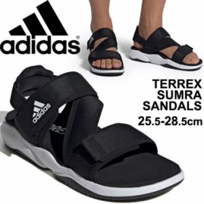 スポーツサンダル ブラック 黒 メンズ アディダス adidas TERREX テレックス SUMRA アウトドア カジュアル 男性 KXC08 サマーシューズ レ