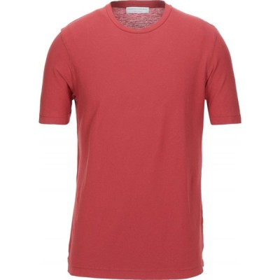 フィリッポ デ ローレンティス FILIPPO DE LAURENTIIS メンズ Tシャツ トップス t-shirt Brick red