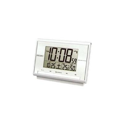 セイコー 電波デジタル目覚まし時計 SQ698S
