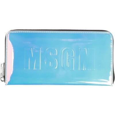エムエスジーエム MSGM レディース 財布 wallet Azure