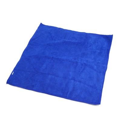 uxcell マイクロファイバーファブリックカークリーニングタオル カークリーニングタオル ブルー 40 x 40cm