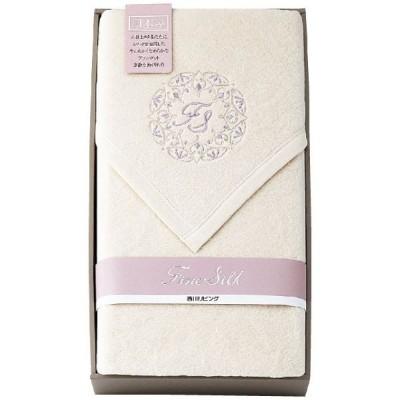 西川リビング シルク混綿毛布(毛羽部分) a207732019 寝具 ギフト 内祝 出産内祝 結婚内祝 引出物 快気祝い 香典返し