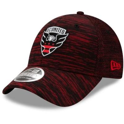ユニセックス スポーツリーグ サッカー D.C. United New Era On-Field Collection 9FORTY Stretch Adjustable Snapback Hat - Black - OSFA