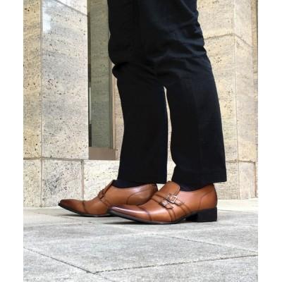 madras / 「ブラックリスト」ダブルバックルビジネスシューズ MEN シューズ > ドレスシューズ
