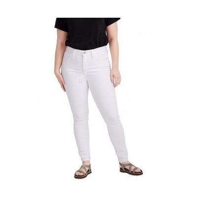 Madewell レディース 女性用 ファッション ジーンズ デニム Curvy High-Rise Skinny Jeans in Pure White - Pure White