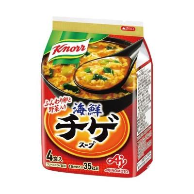 味の素 クノール 海鮮チゲスープ 9.4g 1袋(4食)
