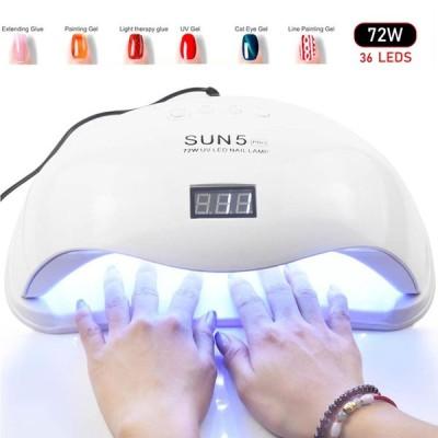 UVランプ LED ネイル ジェル ネイルドライヤー 赤外線 マニキュア タイマー