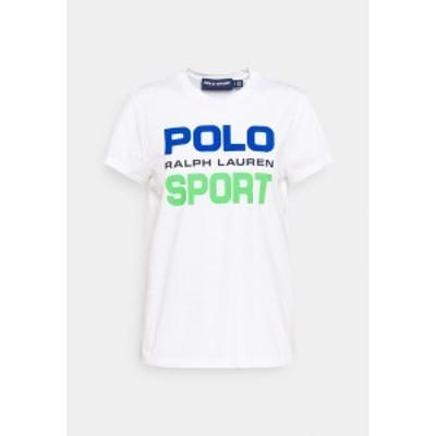 ラルフローレン レディース Tシャツ トップス Print T-shirt - white white