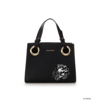 【サマンサベガ】 『ミニーマウス』コレクション スクエアトート レディース ブラック FREE SAMANTHAVEGA