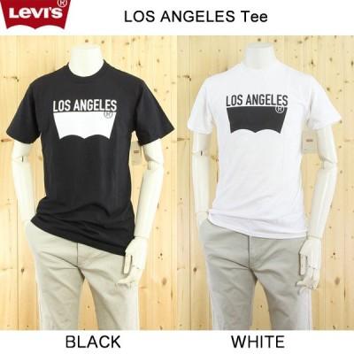 LEVI'S(リーバイス) メンズTシャツ バットウィング/ ブランドロゴ / 3LMST302CC  LOSANGELES シティー バッドウィングTee、USライン