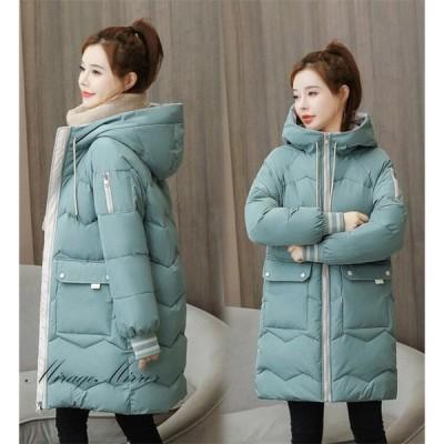 中綿ジャケット レディース ダウンジャケットフード 中綿コート 着痩せ アウター 冬 防寒 ダウンコート