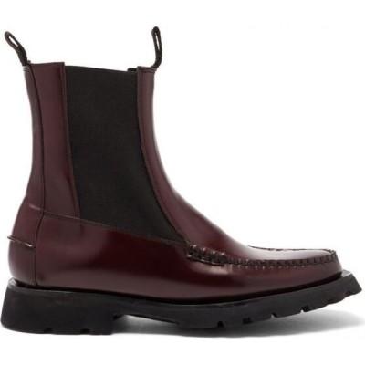 ヘリュー Hereu レディース ブーツ シューズ・靴 Alda Sport leather boots Burgundy