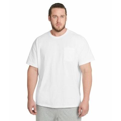 ナイキ シャツ トップス メンズ Big & Tall NSW Tee Premium Essential Pocket White