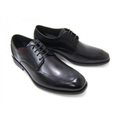 ルーカス コレクション/Lucas Collection YM2912-BLK ブラック 紳士靴 Uチップ 外羽根 リクルート ビジネス フレッシャーズ 送料無料 ポイント10倍