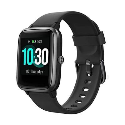 スマートウォッチ 活動量計 2021最新版 Fitpolo F1 腕時計 万歩計 心拍計 IP68完全防水 運動用 smart watch レディース