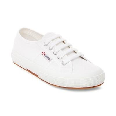 スペルガ レディース スニーカー シューズ Women's 2750 Cotu Canvas Lace-Up Sneakers White