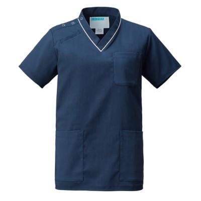 134 KAZEN スクラブ(男女兼用) ナースウェア・白衣・介護ウェア
