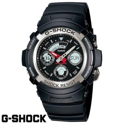 Gショック カシオ G-SHOCK CASIO COMBINATION AW-590-1AJF 国内正規モデル