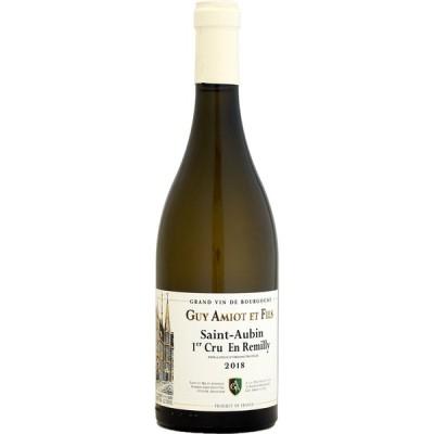 白ワイン wine ドメーヌ・ギィ・アミオ サン・トーバン 1er アン・レミリィ 2018年 750ml (白ワイン)