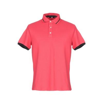 カールラガーフェルド KARL LAGERFELD ポロシャツ レッド S コットン 95% / ポリウレタン 5% ポロシャツ