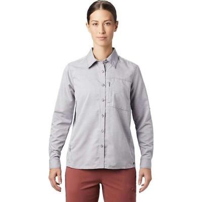 マウンテンハードウェア レディース シャツ トップス Mountain Hardwear Women's Canyon LS Shirt