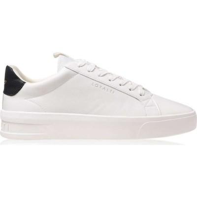 ロイヤリティ Loyalti メンズ スニーカー シューズ・靴 Firenze Trainers White/Black
