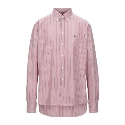 ヘンリー コットンズ HENRY COTTON'S シャツ パステルピンク XXL コットン 100% シャツ