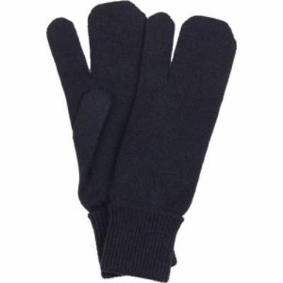 メゾン マルジェラ Maison Margiela レディース 手袋・グローブ tabi wool and cashmere knit gloves Navy