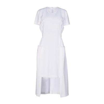 ロゼッタ・ゲッティ ROSETTA GETTY ミニワンピース&ドレス ホワイト 0 レーヨン 100% ミニワンピース&ドレス